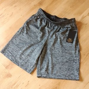 90 Degree by Reflex casual fit workout shorts